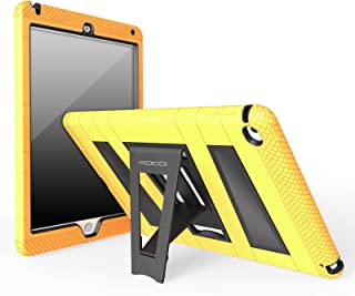 MoKo Case Fit iPad Air 2 - [Kickstand] Durable Hybrid Silicone + Hard Polycarbonate Kid Proof, Shock-Absorption with Foldable Stand Cover Fit Apple iPad Air 2 9.7