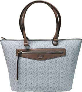 Guess Women's Leonore Top Zip Tote Taupe