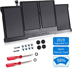 ICETEK Replacement Battery for MacBook Air 13 Inch A1466 A1369 [Japan Electric Core, 2019 Upgraded 2.0, Cobalt Proportion 98%] Late 2010 Early 2015 Version, fits A1496 A1377 A1405, 24 Months Warranty