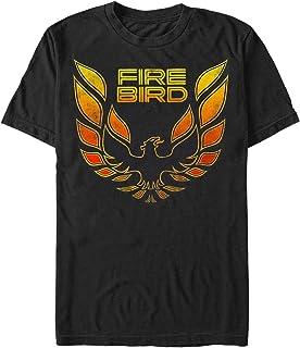 General Motors Mens Classic Pontiac Firebird Logo T-Shirt