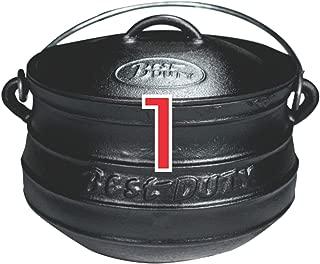 Best Duty #7096 Cast Iron Platpotjie Pot & Lid Size 1