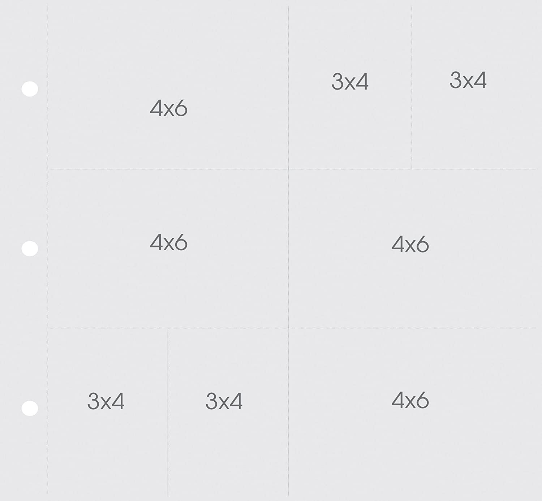 Unbekannt Simple Stories SS4053 Kunststoff Snap Pocket Seiten für 12 Zoll x 12 Zoll Binders- (4) 4-Zoll x 6 und (4) 4-Zoll x 3 Zoll Taschen B00DV8ZTZE    | Genial Und Praktisch
