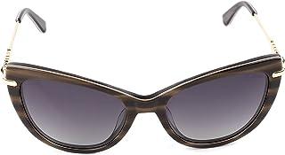 نظارة طبية شمسية نسائية من المعدن رقم الموديل 6138c6 اللون ذهبي*بني