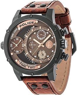 Police 14536JSB/12A - Reloj mecánico para hombre con