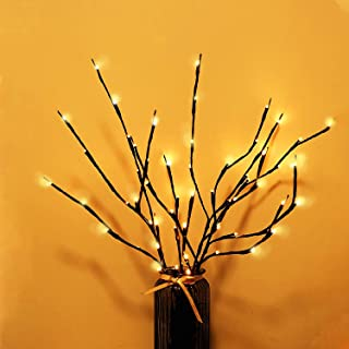 RENUS Branch Lights,3Packs Twig Light USB Powered 8 Flashing Modes by Remote Control.Branch Lights for Indoor and Outdoor,...