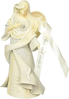 Foundations Loss & Comfort Angel Stone Resin Figurine, 9.25""