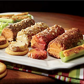 Cheese Logs Gift Assortments, Four 7 oz. Logs from The Swiss Colony