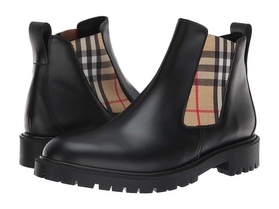 Burberry Allostock Boot (Black) Men