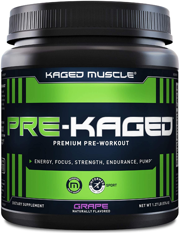Pre Workout Powder; KAGED MUSCLE In stock cheap for Men Preworkout Workou