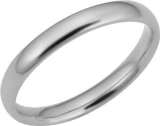 KoolJewelry Minimalist Women's 14k Yellow White or Rose Gold Knuckle Stacking Midi Ring (3 mm)