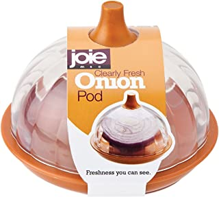 MSC International Joie Clearly Fresh Airtight Onion Keeper Storage Container Pod