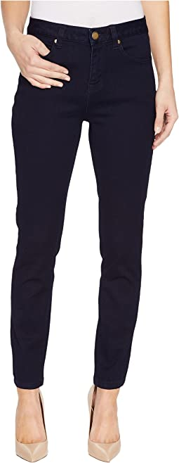 "Five-Pocket Ankle Jegging 28"" Dream Jeans in Midnight"