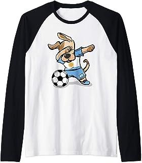 Dabbing Dog Argentine Football Drapeau Argentin Football Sweatshirt