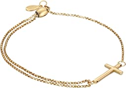 Precious II Collection Cross Adjustable Bracelet