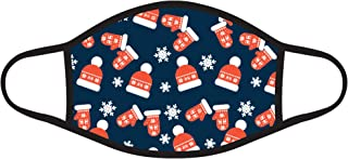 Christmas Kids Face Mask Cotton Fabric Cloth Covering Reusable Breathable Child Children Protection Cover Made in USA