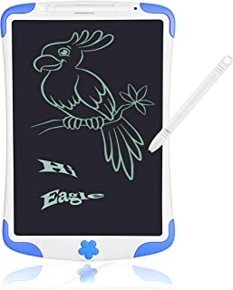 LCD e-Writing Board for Kids, Also Inkless Drawing/Memo Pads or Paperless Noting/Planning Boards (Only for Kids, Blue-8.5'')