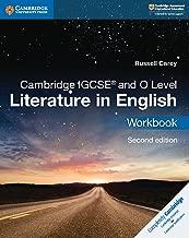 Cambridge IGCSE® and O Level Literature in English Workbook (Cambridge International IGCSE)