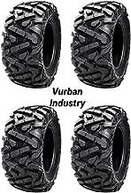 Bundle - Four Tusk TRILOBITE 8-Ply HEAVY DUTY ATV UTV Tires - TWO 26x9-12 and TWO 26x10-12