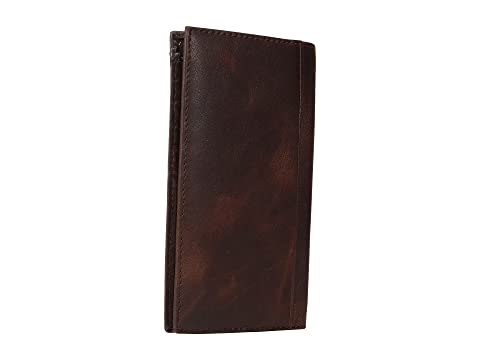 Ariat Overlay Scroll Concho Croc Embossed Rodeo Wallet Brown Extremely 100% Authentic View Cheap Online IvBIJ