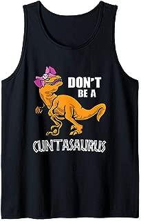 Don't Be A Cuntasaurus T-Rex Dinosaur Lover Gift Tank Top