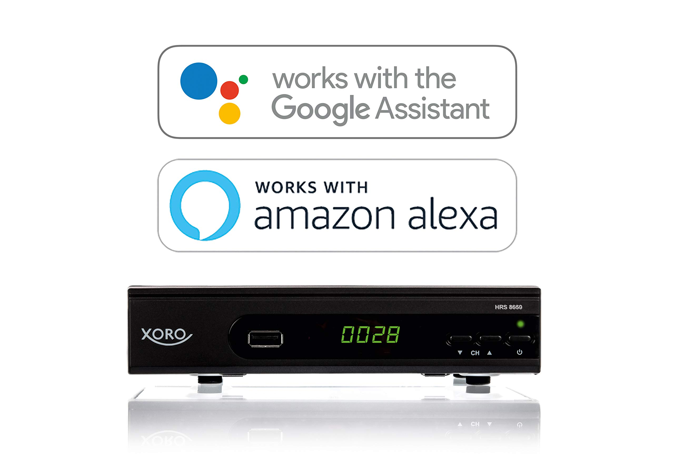 Xoro HRS 8660 Smart Receptor satélite Digital (HDTV, DVB-S2) Negro: Amazon.es: Electrónica