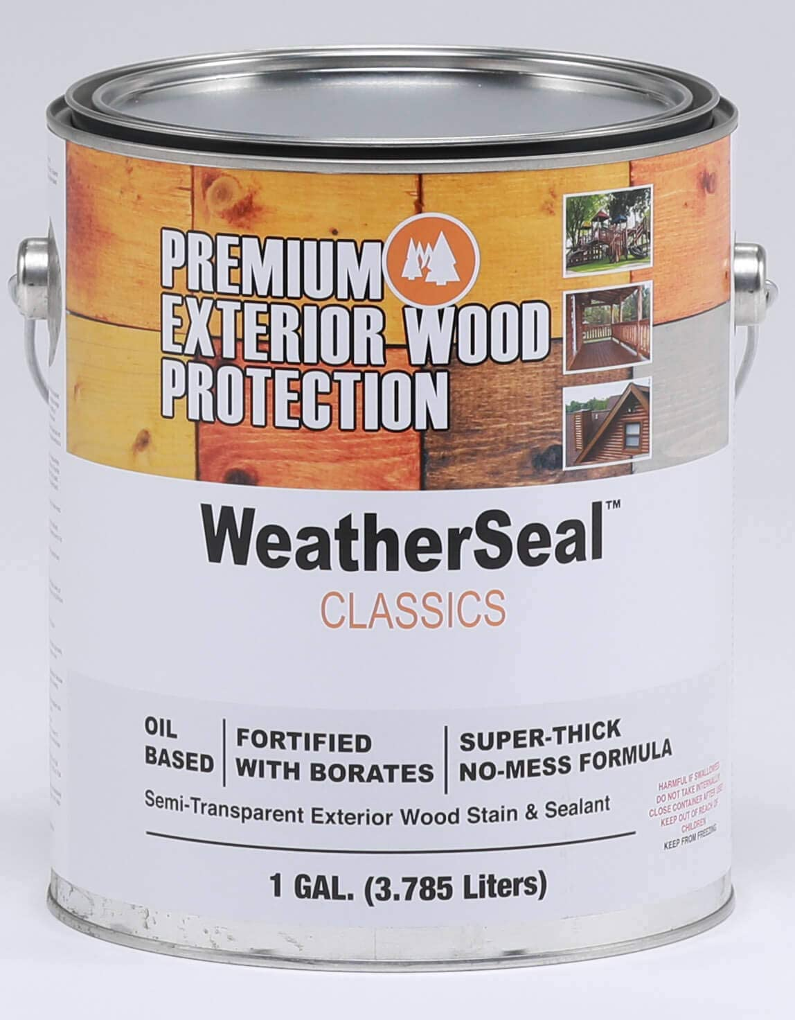 Continental Weatherseal Stain Canyon Superlatite Gallon store Brown 1