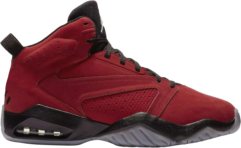 Nike Jordan Mens Jordan Lift Off Synthetic Leather Gym Red Black Trainers 12 US
