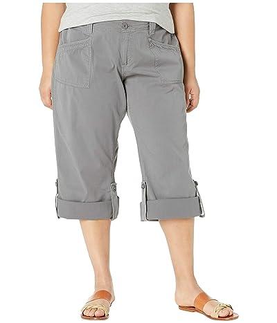 Aventura Clothing Plus Size Addie V2 Capris (Quiet Shade) Women