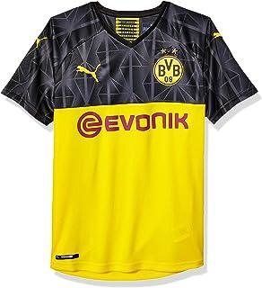 قميص BVB رجالي من PUMA مع شعار Evonic Without Opel
