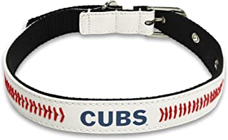 Pets First MLB Signature Pro Premium Pet Collar, Chicago Cubs, Large