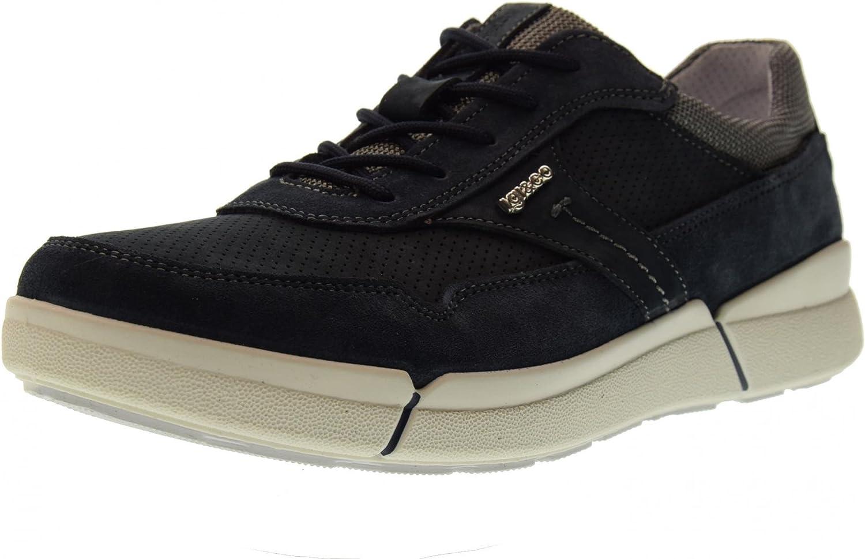 IGI CO shoes Men Low Sneakers 1126300 Dark bluee