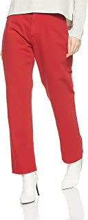 Tommy Hilfiger Women's 8719702218-Red Tommy Jeans Straight Jeans for Women - Red
