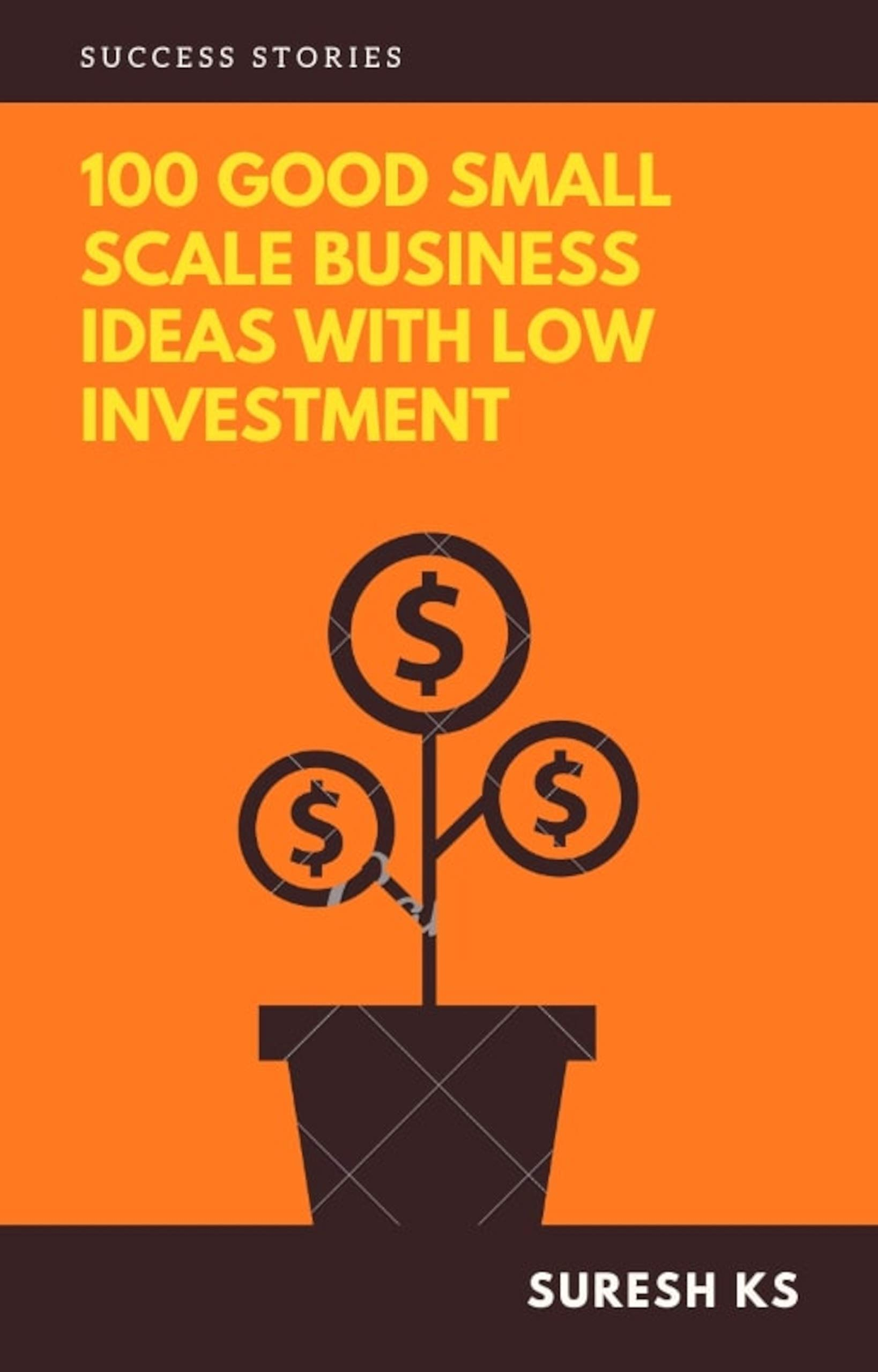 100 Good Small Scale Business Ideas with Low Investment: Success Stories - Hindi version (Hindi Edition)