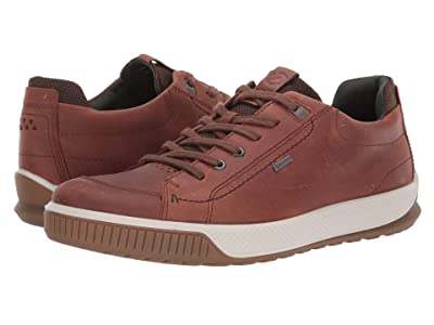 ECCO Byway Tred Gore-Tex(r) Sneaker (Brandy) Men