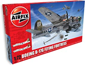 Airfix Boeing B-17G Flying Fortress 1:72 WWII Military Aviation Plastic Model Kit A08017A
