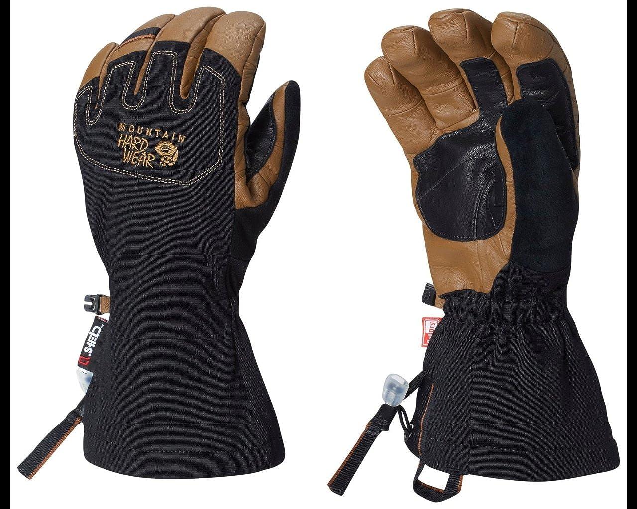 Mountain Hardwear Unisex Outdoor Minalist Outdry Gloves , Golden Brown, M