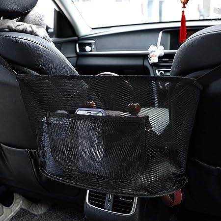 Car Handtaschenhalter Zwischen Sitzen ZJXAM Car Net Pocket Handtaschenhalter Zwischen Sitzen Autositzablage Und Handtaschenhalter Net Hanging Aufbewahrungstasche Zwischen Autositzen