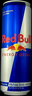 Red Bull Energy Drink, 16 ounce (Pack of 8)