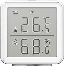 Tuya WIFI sensor de temperatura y humedad Smart Home Interior Enlace inteligente Sensor de temperatura y humedad anormales