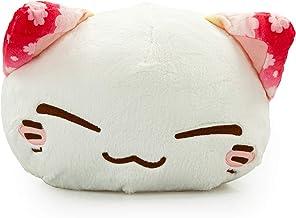 Nemu Nemo Neko Kuscheltier Katze Blumenmuster Ohr Rosa Manga