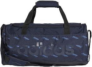 adidas Unisex Linear Core Small Gfx Duffel Bag, Legend Ink/Black/Legend Ink