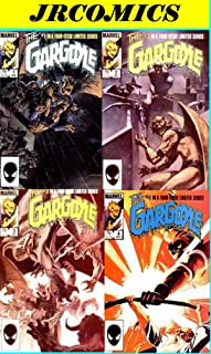The GARGOYLE 4 issue Marvel limited series Complete Vintage Set (#1,#2,#3,& #4) DEFENDERS SPIN-OFF - WRIGHTSON ART (Marvel LIMITED SERIES, Vol 1)