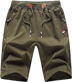 LY4U Pantalones Cortos de Verano para Hombre Pantalones Deportivos Deportivos Pantalones Cortos de Gimnasio con Bolsillos ...