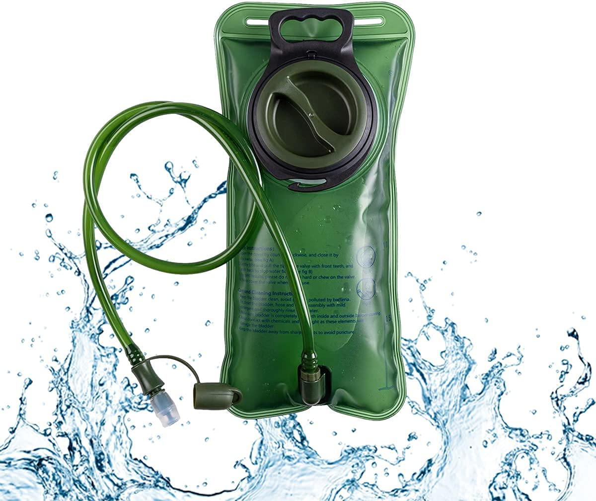 New life Yadream 35% OFF Hydration Bladder 2L Leakproof BP Water Military