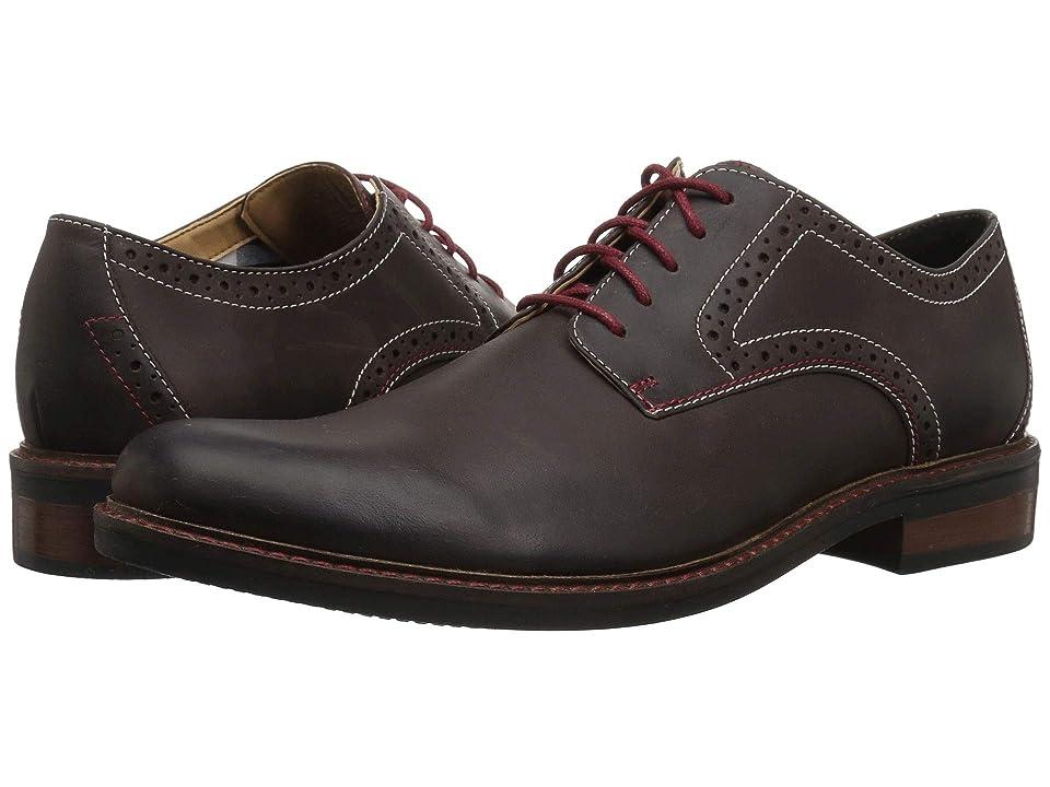 Bostonian Maxton Plain (Dark Brown Leather) Men