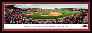 Arkansas Baseball - College Posters, Framed Pictures and Wall Decor by Blakeway Panoramas
