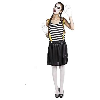 Costumizate! Disfraz de Mimo para Mujer Adulta Especial para ...