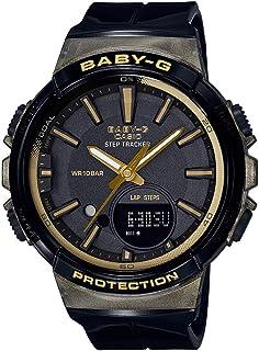 Casio Women's Baby-G BGS100GS-1A Black Polyurethane Japanese Quartz Sport Watch