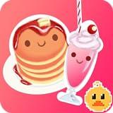 Pancake (check) Milkshake (check) Bunny (1) Kitty (1)