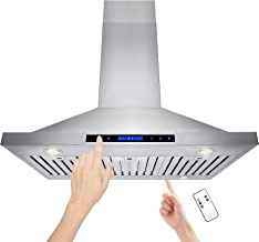Best island range hood with remote control Reviews